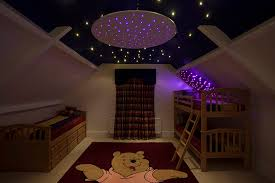 lighting star cloth ceiling ring back