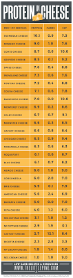 Protein In Cheese Visual Guide Top 29 High Protein Cheeses