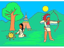 Coloriage Les Indiens D Am Rique Imprimer Gratuitement Free