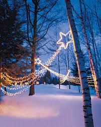 Outdoor Lighting Christmas Stars Shooting Stars Outdoor Lighting Christmas Winter