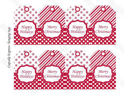 Printable Christmas Gift Tags DIY Packaging Holiday LabelsChristmas Gift Tag Design