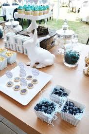 blue white baby shower via kara s party ideas karaspartyideas decor cupcakes