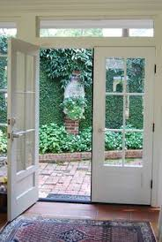 exterior french patio doors. french doors opening onto a courtyard exterior patio