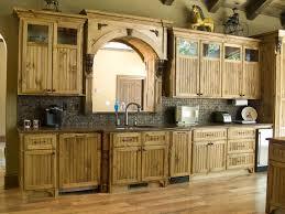 Rustic Kitchen Decor Ideas Wooden Ceiling Small White Corner Design