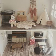 mini doll house furniture. renovated kmart dolls house with a combination of lundby handmade and vintage sylvanian family furniture mini doll
