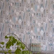 quill cobalt wallpaper designers guild