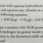 Answer Zinc Reacts With Hydrochloric Acid Clutch Prep