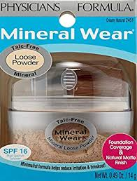 Physicians Formula Mineral Wear Talc Free Loose Powder Creamy Natural 0 49 Ounce