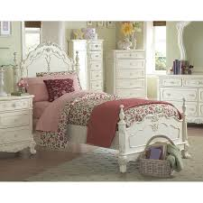 Homelegance Cinderella Ecru Twin Bed Frame at Lowes.com