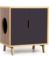 Image Diy Check Out These Major Bargains Mid Century Modern Cat Litter Box Furniture Small Cat Litter Box Cover Pet House Mcm Walnut Side Table The Mini Cabinet Better Homes And Gardens Check Out These Major Bargains Mid Century Modern Cat Litter Box