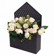 Paper Flower Suppliers Wholesale Envelope Shaped Paper Flower Boxes Manufacturers