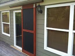 built a sliding screen door the garage journal board home