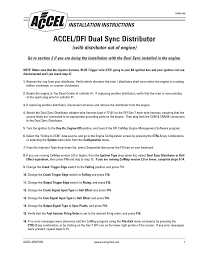 mallory ignition accel dfi dual sync distributor 77100 user manual accel dfi gen 7 software download at Accel Dfi Gen 6 Wiring Diagram