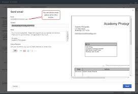 Email Invoices QuickBooks Online Email Invoice Improvements Accountex Report 17
