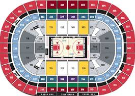 Chicago United Center Concert Seating Chart Chicago Bulls Vs Sacramento Kings January 24 2020