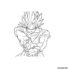 Dragonball Z Coloriages Coloring Pages School Dragon Dragon Ball Z