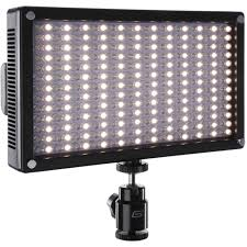 Camera Mount Led Lights Genaray Led 7100t 312 Led Variable Color On Camera Light
