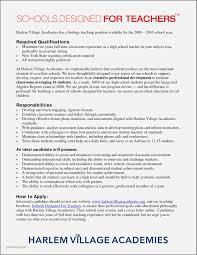 Sample Resume For High School Teacher India Unique Margorochelle