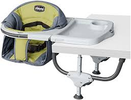 to start of the list of travel high chairs for babies is the chicco caddy hook on chair which as the name suggests is a hook on chair
