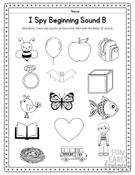 Check out more alphabet tracing sheets. I Spy Beginning Sounds Activity Free Printable For Speech And Apraxia