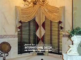 luxury swag curtains valance for bathroom corner windows curtain window curtains with valance