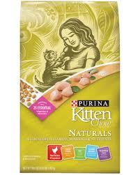 Purina Kitten Chow Naturals Kitten Food