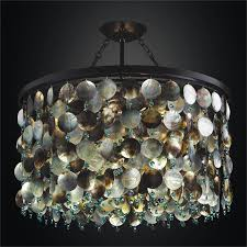 mother of pearl shell chandelier black magic 586hd26 24mi 9ag
