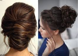 5 تسريحات شعر مرفوعة لصاحبات الشعر الطويل