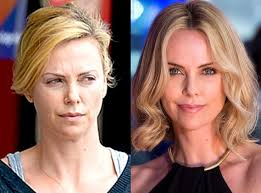 charlize theron from stars without makeup