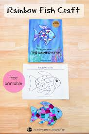 this rainbow fish craft is the perfect panion to the beloved book the rainbow fish