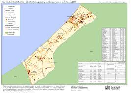 large detailed road map of gaza strip gaza strip large detailed