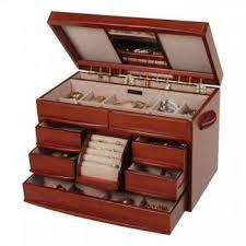 jewelry display box. Interesting Display Seven Seas Jewelers Womens Walnut Finish Wooden Jewelry Box Drawers Ring  Rolls Mirror More Dresser Top Jewel Chest With Display Box