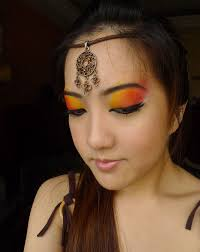 native american inspired look for makeup geek weekly challenge bun bun makeup tips and beauty