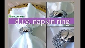 wedding napkin rings lovely dollar tree diy mini spoon holiday bling napkin ring fast easy