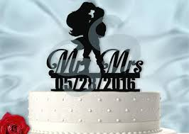 Small Picture Awesome Ariel And Eric Wedding Cake Topper Images Awesome