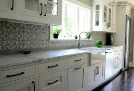 Houzz Kitchen Tile Backsplash Grey Subway Tile Backsplash Kitchens White Cabinets Kitchen In