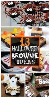 fun and y halloween brownies