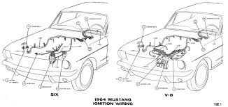1964 mustang wiring diagrams average joe restoration 1956 Jeep CJ5 Wiring-Diagram sm1964c 1964 mustang ignition wiring pictorial