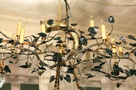 rustic tree branch chandelier rustic container home interior decoration ideas