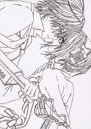 Small Picture 443 best Anime Coloring images on Pinterest Coloring books