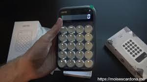 Unboxing the <b>LOFREE</b> Mechanical Calculator and <b>Numeric</b> Pad ...