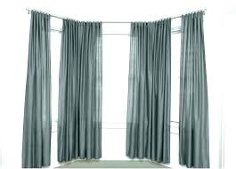 bay window curtain rod. White Curtain Rods Walmart Double At E 1 Bay Window Rod X