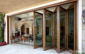 exterior bifold doors. WOODEN FOLDING DOOR (Bi-Fold) Add A Practical And Attractive Feature To Any Home With Wooden Patio Doors That Bring The Garden Interior Closer Exterior Bifold