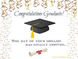congratulations to graduate graduation card wording confetti bliss