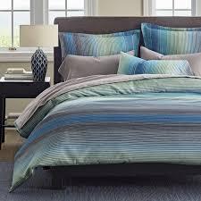 sets duvet covers blue figure griffin blue stripe 5oz flannel duvet cover