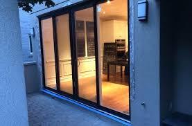 sliding patio doors modern exterior oversized sliding patio door by modern doors triple sliding patio