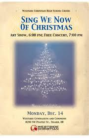 Christmas Concert Poster Christmas Concert Poster 2015 Copy Westside Christian High School