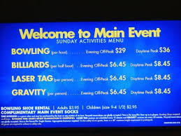 Prices Picture Of Main Event Entertainment Oklahoma City