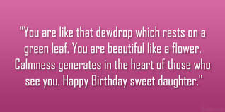 Beautiful Birthday Quotes Best Of Birthday Quotes Loving Daughter SloDive