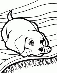 Dachshund With Puppies Coloring Pages